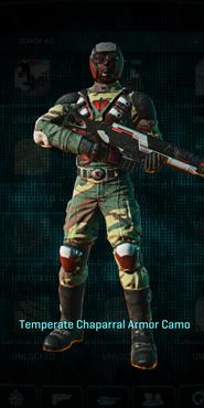 Tr temperate chaparral combat medic