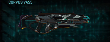 Indar dry brush assault rifle corvus va55