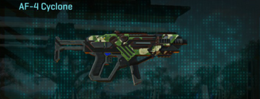 African forest smg af-4 cyclone