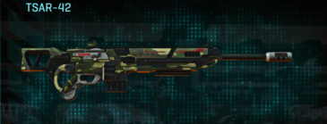 Temperate forest sniper rifle tsar-42