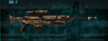 Indar plateau sniper rifle sr-7