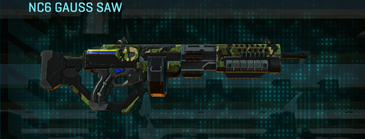 Jungle forest lmg nc6 gauss saw