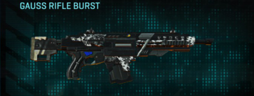 Snow aspen forest assault rifle gauss rifle burst