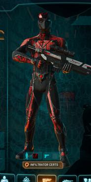 Tr loyal soldier camo infiltrator
