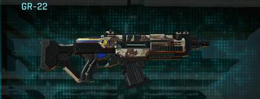 Desert scrub v2 assault rifle gr-22