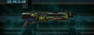 Jungle forest shotgun gd-66 claw