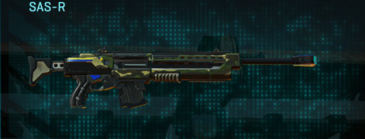 Temperate forest sniper rifle sas-r