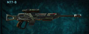 Amerish scrub sniper rifle m77-b