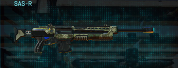Pine forest sniper rifle sas-r