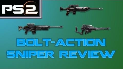 Planetside 2 - Bolt-Action Sniper Review and Comparison - Mr