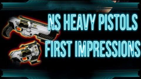 Planetside 2 - NS-44 Commissioner & NS-357 Underboss First Impressions