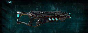 Indar dry brush assault rifle cme