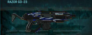 Nc zebra carbine razor gd-23