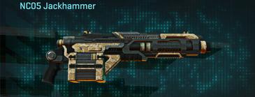 Sandy scrub heavy gun nc05 jackhammer