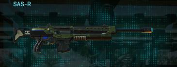 Amerish leaf sniper rifle sas-r