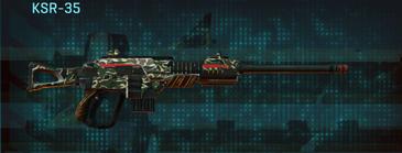 Scrub forest sniper rifle ksr-35