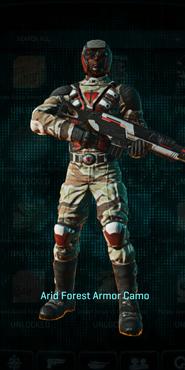 Tr arid forest combat medic