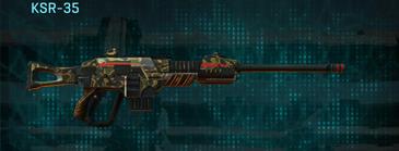 Indar highlands v1 sniper rifle ksr-35