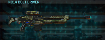 Pine forest sniper rifle nc14 bolt driver