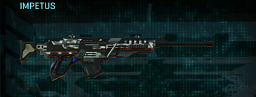 Northern forest sniper rifle impetus