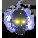 Azure Inferno Skull NC Helmet