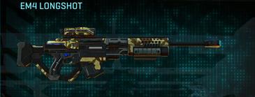 India scrub sniper rifle em4 longshot