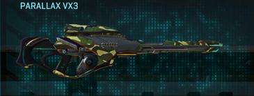Temperate forest sniper rifle parallax vx3