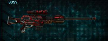 Tr alpha squad sniper rifle 99sv