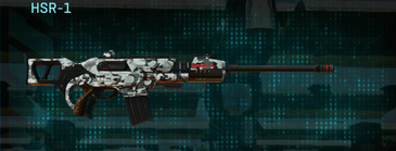 Forest greyscale scout rifle hsr-1