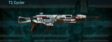 Esamir ice assault rifle t1 cycler