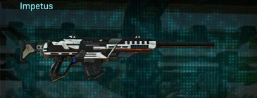 Esamir snow sniper rifle impetus