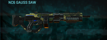 Temperate forest lmg nc6 gauss saw