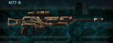 Indar plateau sniper rifle m77-b