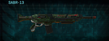 Clover assault rifle sabr-13