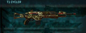 India scrub assault rifle t1 cycler