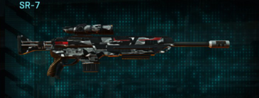 Indar dry brush sniper rifle sr-7