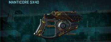 Indar highlands v1 pistol manticore sx40