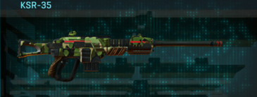 Jungle forest sniper rifle ksr-35