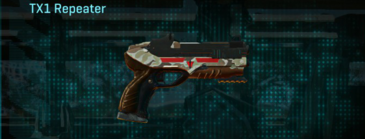 Arid forest pistol tx1 repeater