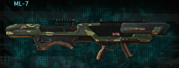 Temperate forest rocket launcher ml-7