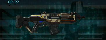 Indar scrub assault rifle gr-22