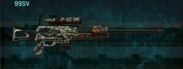 Scrub forest sniper rifle 99sv