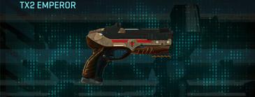 Indar plateau pistol tx2 emperor