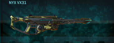 Temperate forest scout rifle nyx vx31