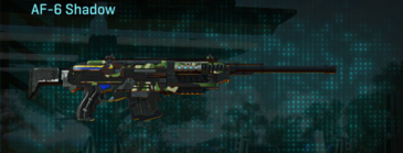 African forest scout rifle af-6 shadow