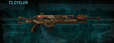 Indar rock assault rifle t1 cycler