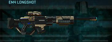 Indar scrub sniper rifle em4 longshot