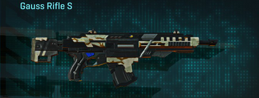 California scrub assault rifle gauss rifle s