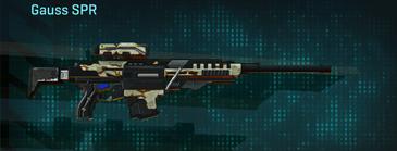 California scrub sniper rifle gauss spr