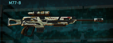 California scrub sniper rifle m77-b